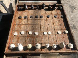 タイの将棋マークルックの盤面