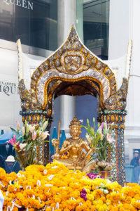 バンコクのパワースポットであるエラワンの祠