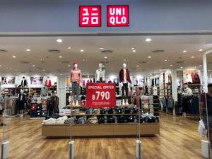 タイ人に人気のファッションブランドユニクロ