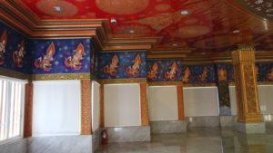 ワット・パクナム5階の装飾