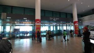 クアラルンプール国際空港のバス乗り場