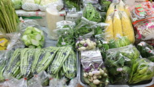 オンヌット生鮮市場に売られているカット野菜